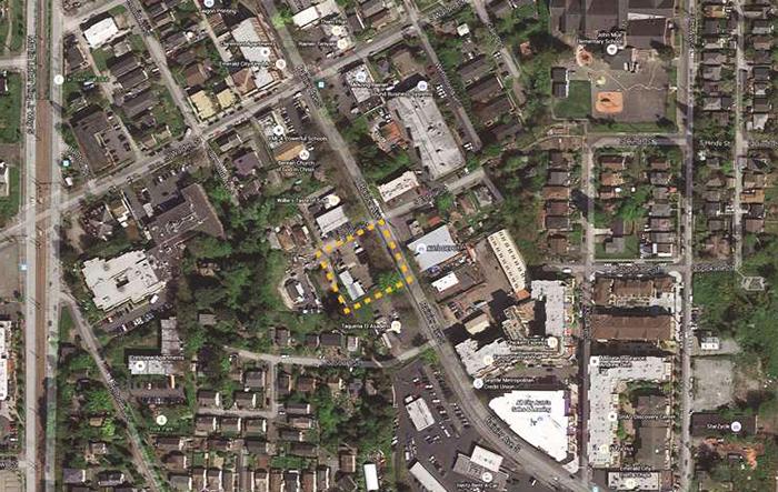 aerial site map of Estelle