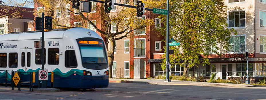 Riding mass transit makes affordable housing even better.