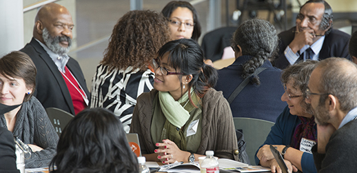 Discussions at the Equity Summit.