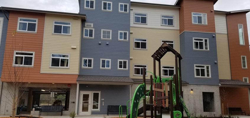 Bakerview Housing exterior shot
