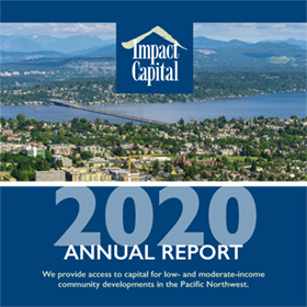 Cover of Impact Capital 2020 Annual Report